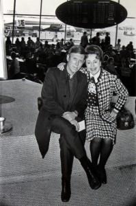Arthur and Madeleine Morris circa 1975