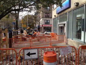 Sidewalk Replacement in NYC on 11/5/12